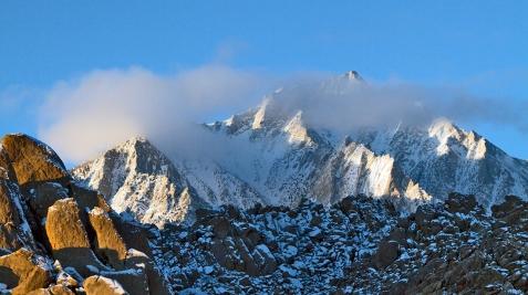 Photo of Eastern Sierra Peaks